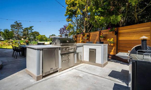 Basking in the sunshine: 5 outdoor kitchen maintenance tips