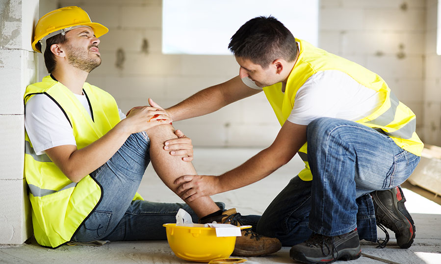 What can you do if you're involved in an accident at work that wasn't your fault?