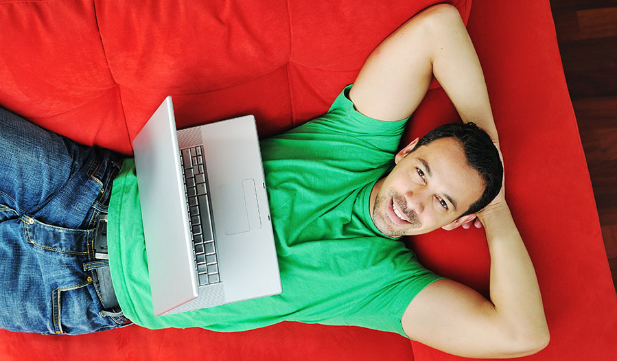 Young British adults spend more time watching video on laptops than TV sets