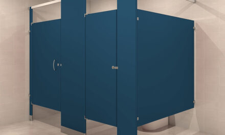 Addressing privacy issues in bathrooms through new bathroom partitions