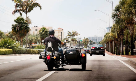 Safety tips traveling through Florida on a motorcycle