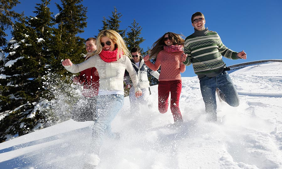 The top 5 destinations for a magical winter