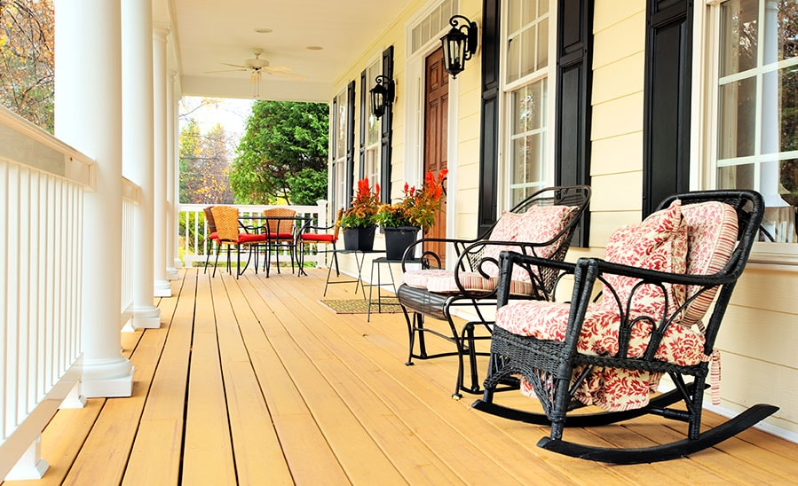 Improve your front porch and impress the buyers