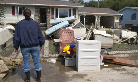 The best way to enter and clean up flooded homes