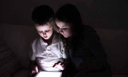 Recommended children screen time