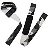 Meister Neoprene-Padded Weight Lifting Straps
