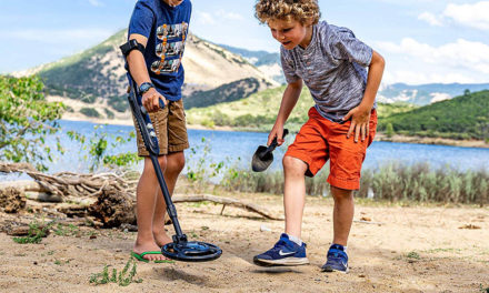 How to get children into metal detecting