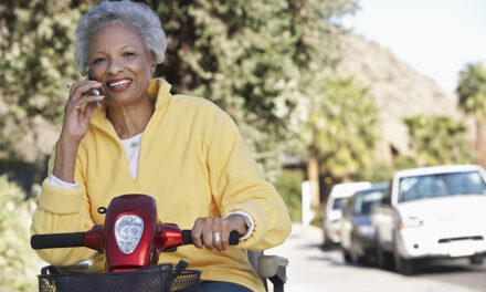 How mobility scooters help with physical activity in the elderly
