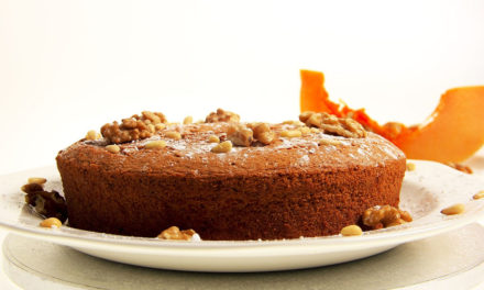 Enjoy the delightful healthy and delicious pumpkin cake