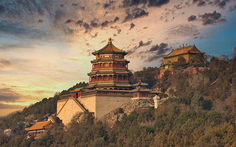 summer palace beijing china