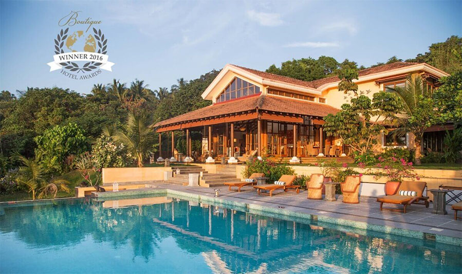 Summertime Villa in Goa wins world Boutique Hotel Award 2016