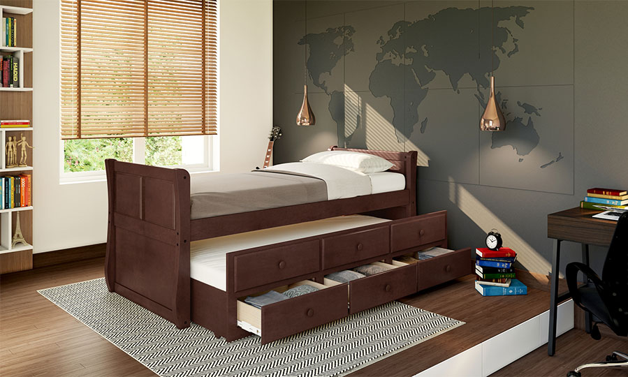 Trundle beds: your modern space saving solution
